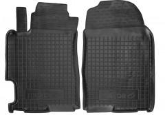 Коврики в салон передние для Mazda 6 '02-08 резиновые, черные (AVTO-Gumm)