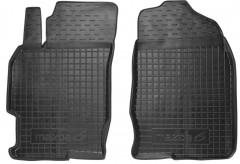 Коврики в салон передние для Mazda 6 '08-12 резиновые, черные (AVTO-Gumm)