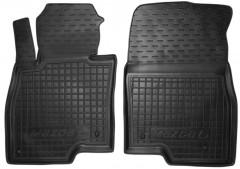 Коврики в салон передние для Mazda 6 '13- резиновые, черные (AVTO-Gumm)