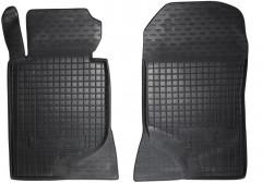 Коврики в салон передние для Mercedes E-Class W124 '84-96 резиновые, черные (AVTO-Gumm)