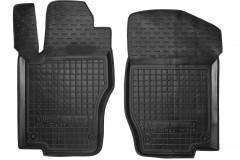 Коврики в салон передние для Mercedes ML-Class W164 '05-11 резиновые, черные (AVTO-Gumm)