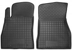 Коврики в салон передние для Nissan Juke '11- резиновые, черные (AVTO-Gumm)