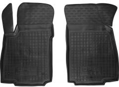 Коврики в салон передние для Opel Mokka '12- резиновые, черные (AVTO-Gumm)