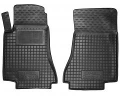 Коврики в салон передние для Opel Omega B '94-03 резиновые, черные (AVTO-Gumm)