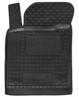 Коврики в салон передние для Opel Vectra C '02-08 резиновые, черные (AVTO-Gumm)