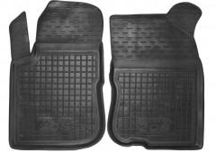 Коврики в салон передние для Peugeot 208 '12- резиновые, черные (AVTO-Gumm)