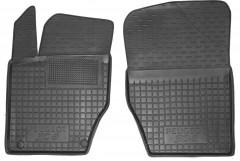 Коврики в салон передние для Peugeot 308 '08-13 резиновые, черные (AVTO-Gumm)