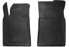 Коврики в салон передние для Peugeot 508 '11- резиновые, черные (AVTO-Gumm)