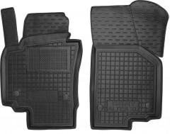 Коврики в салон передние для Seat Altea / Altea XL '07-15 резиновые, черные (AVTO-Gumm)