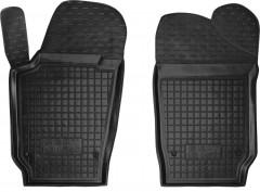 Коврики в салон передние для Seat Ibiza '12- резиновые, черные (AVTO-Gumm)