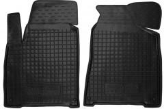 Коврики в салон передние для Ssangyong Korando '11- резиновые, черные (AVTO-Gumm)