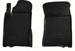 Коврики в салон передние для Ssangyong Kyron '05-15 резиновые, черные (AVTO-Gumm)