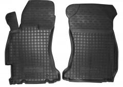 Коврики в салон передние для Subaru Forester '13-18 резиновые, черные (AVTO-Gumm)