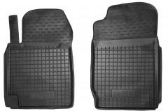 Коврики в салон передние для Suzuki Grand Vitara '06- резиновые, черные (AVTO-Gumm)