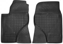 Коврики в салон передние для Toyota Avensis '03-08 резиновые, черные (AVTO-Gumm)