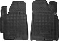 Коврики в салон передние для Toyota Highlander '07-13 резиновые, черные (AVTO-Gumm)