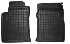 Коврики в салон передние для Toyota LC Prado 120 '03-09 резиновые, черные (AVTO-Gumm)