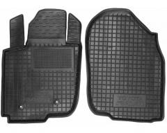 Коврики в салон передние для Toyota RAV4 '06-12 резиновые, черные (AVTO-Gumm)