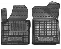 Коврики в салон передние для Volkswagen Touran '03-15 резиновые (AVTO-Gumm)