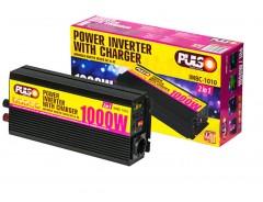 Инвертор / преобразователь напряжения 1000Вт, и зарядное устройство 10А, Pulso IMBC-1010