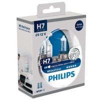 Автомобильная лампочка Philips WhiteVision H7 12V 55W (комплект: 2шт.)