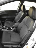 Фото 1 - Авточехлы Leather Style для Honda Accord '13-17 серая строчка (MW Brothers)