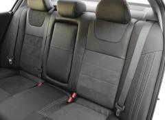 Фото 7 - Авточехлы Leather Style для Honda Accord '13-17 серая строчка (MW Brothers)
