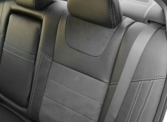 Фото 9 - Авточехлы Leather Style для Honda Accord '13-17 серая строчка (MW Brothers)