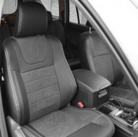 MW Brothers Авточехлы Leather Style для Toyota LC Prado 150 '14-, (5 мест) (MW Brothers)