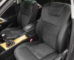 Авточехлы Leather Style для Toyota Venza '10-16 (MW Brothers)
