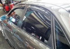 Дефлекторы окон для Audi A4 '95-99, седан (Hic)