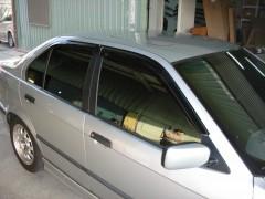 Дефлекторы окон для BMW 3 E36 '90-99, седан (Hic)