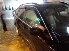 Дефлекторы окон для BMW 3 E46 '98-06, универсал (Hic)