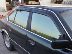 Дефлекторы окон для BMW 5 E34 '88-96, седан (Hic)