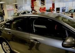 Дефлекторы окон для Citroen C5 '08-, седан (Hic)