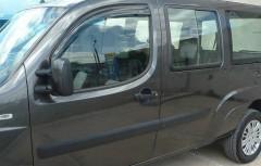Дефлекторы окон для Fiat Doblo '01-09, 2шт. (Hic)