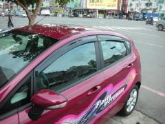 Дефлекторы окон для Ford Fiesta '09-17 (Hic)