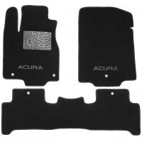Коврики в салон для Acura MDX '06-13 текстильные, черные (Люкс)