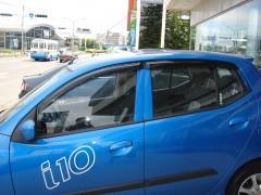 Дефлекторы окон для Hyundai i-10 '07-13 (Hic)