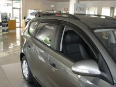 Дефлекторы окон для Hyundai i30 FD '07-12, хетчбек (Hic)