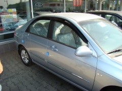 Фото 1 - Дефлекторы окон для Kia Cerato '04-09, седан (Hic)