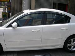 Дефлекторы окон для Mazda 3 '04-09, седан (Hic)