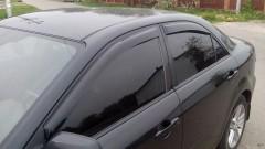 Дефлекторы окон для Mazda 6 '02-08, седан (Hic)