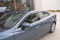 Дефлекторы окон для Mazda 6 '13- (Hic)