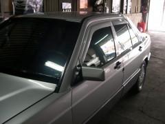 Дефлекторы окон для Mercedes E-Class W124 '84-96, седан (Hic)