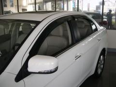 Дефлекторы окон для Mitsubishi Lancer X (10) '07- (Hic)