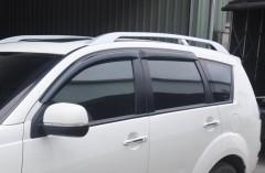 Дефлекторы окон для Mitsubishi Outlander XL '07-12 (Hic)