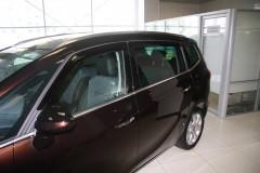 Дефлекторы окон для Opel Zafira C Tourer '12- (Hic)