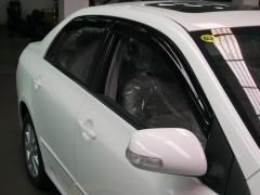 Дефлекторы окон для Toyota Corolla '07-12, седан (Hic)