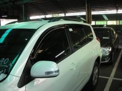 Дефлекторы окон для Toyota RAV4 '06-12, long (Hic)